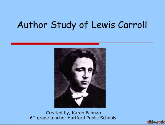 Author Study of Lewis Carroll