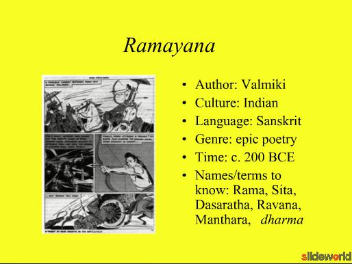 The Ramayana  The Way of Rama 