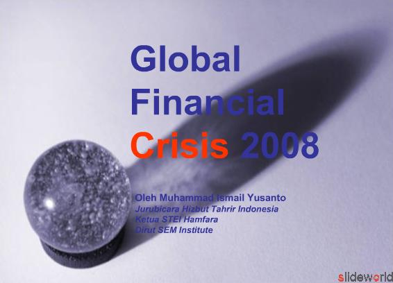 Global Financial Crisis 2008