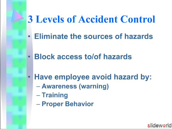 How Can We Reduce Accidents Accident Control