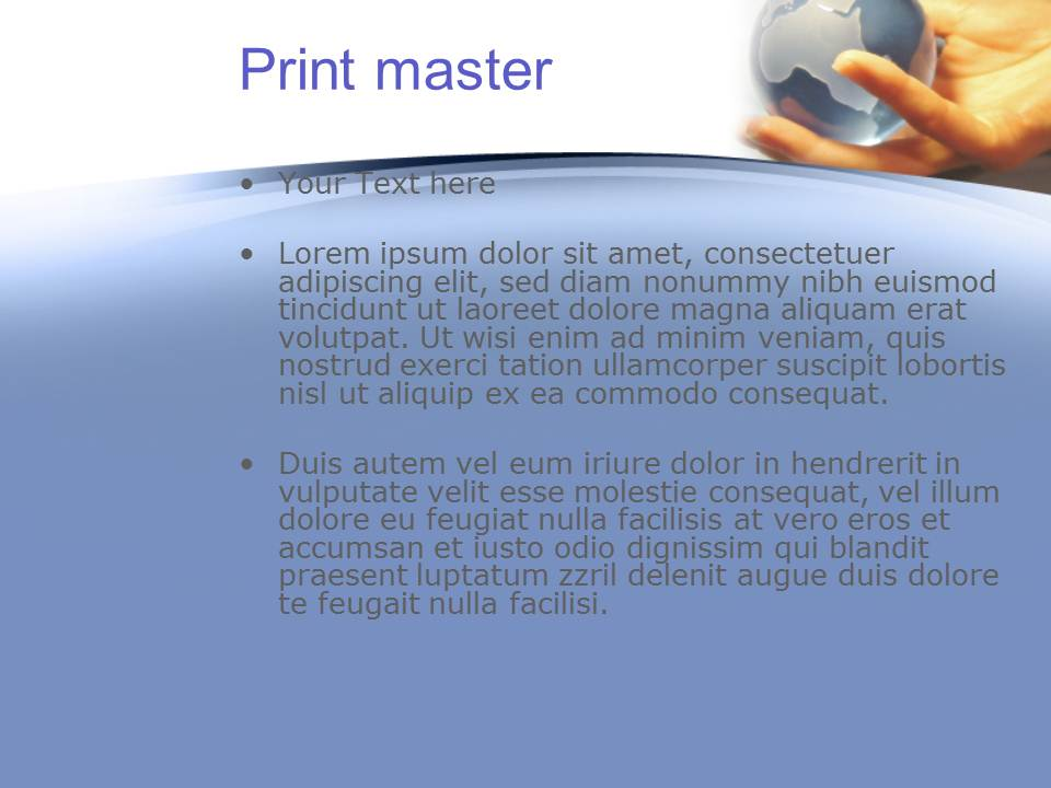 Globe Business  Powerpoint Templates