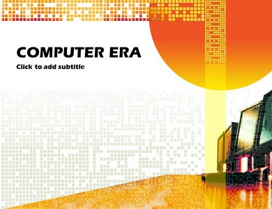 Computer-Era Powerpoint Templates