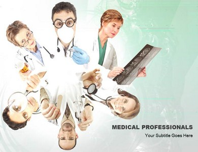 Medical Professionals  Powerpoint Templates