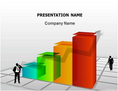 Free Finance Graph  Powerpoint Templates