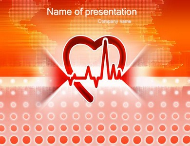 Healthy beats of heart Powerpoint Templates