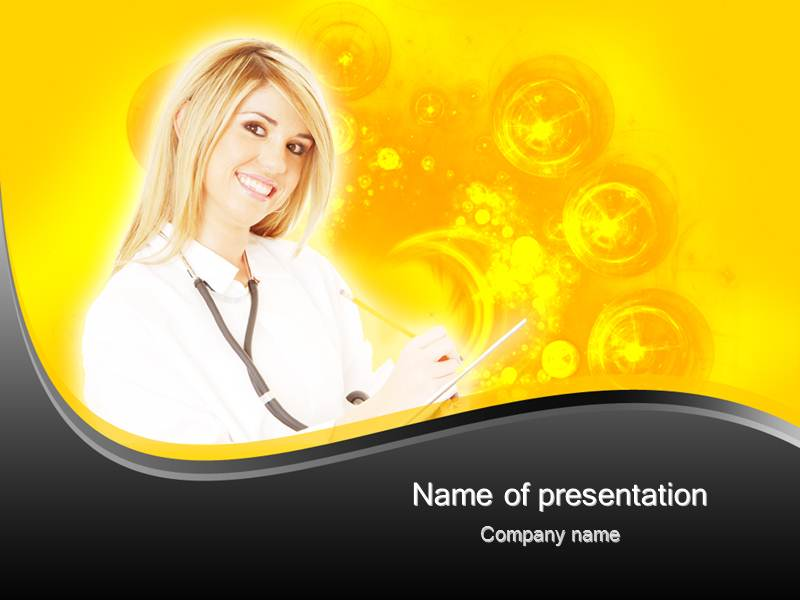 Medical Science Bringing a Smile Powerpoint Templates
