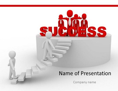 Ladder of Success  Powerpoint Templates