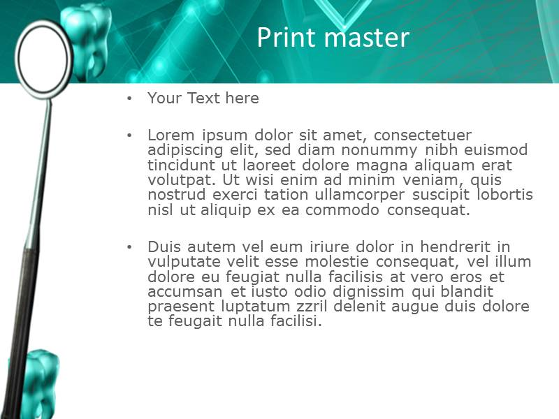 Prospering Dentistry  Templates For Powerpoint
