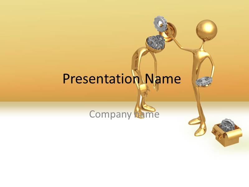 brain modification powerpoint ppt template template powerpoint