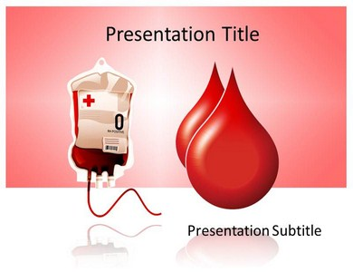 Donate Blood Templates For Powerpoint
