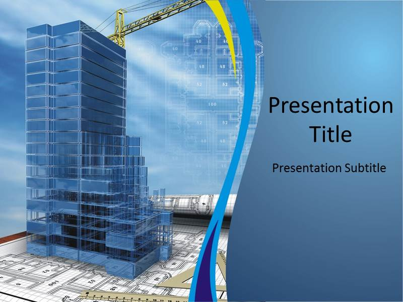 Construction powerpoint template construction ppt free my toneelgroepblik Choice Image
