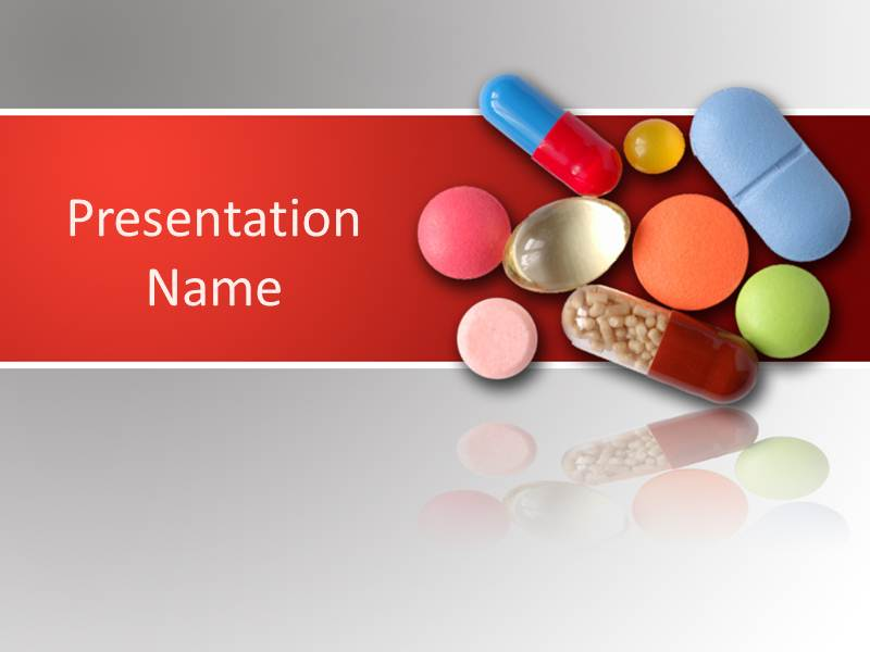 Medicinal Pills  Powerpoint Templates