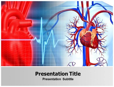 cardiovascular powerpoint (ppt) templates, powerpoint background, Modern powerpoint