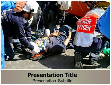 Emergency medical Help Powerpoint Templates