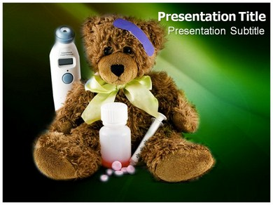 Kids medicine Powerpoint Templates