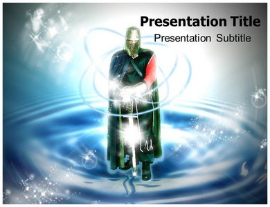 Knight History Pic Powerpoint Templates
