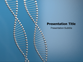 DNA String powerPoint template