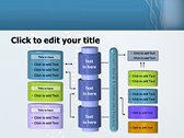 DNA String ppt themes template