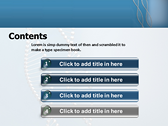DNA String ppt templates
