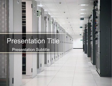 Data Center Powerpoint Templates