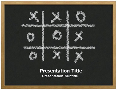 Tic Tac Toe Powerpoint Templates