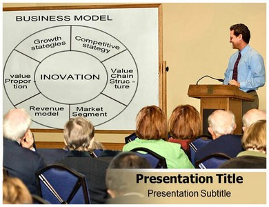 Business Model On Board Powerpoint Templates