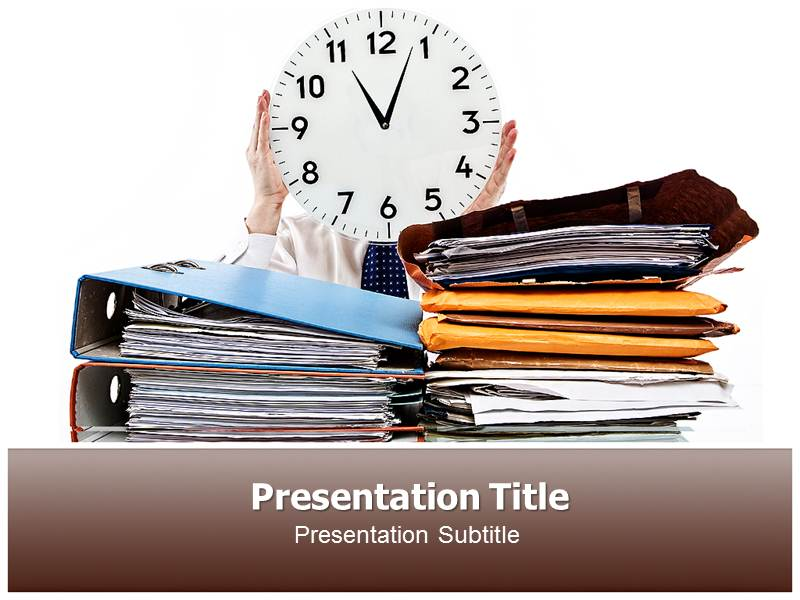 Time management counselling powerpoint ppt template powerpoint my toneelgroepblik Gallery