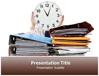 Time Management Counselling Powerpoint Templates