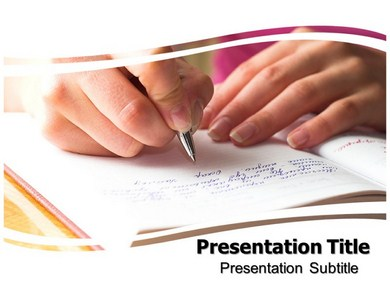 Writing book powerpoint templates powerpoint presentation on writing book powerpoint templates toneelgroepblik Images