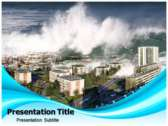 Tsunami Facts Powerpoint Templates
