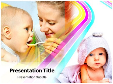 Baby Duck Powerpoint Templates