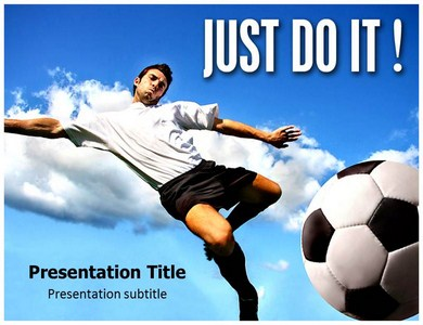 Just Do It Nike Powerpoint Templates