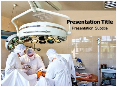 Surgical Procedure Refrence Powerpoint Templates