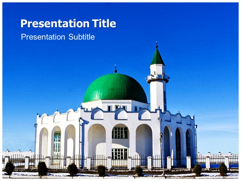Mosque powerpoint template ppt template on mosque powerpoint my toneelgroepblik Image collections