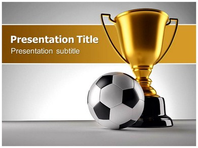 Soccer Cup 1 Powerpoint Templates