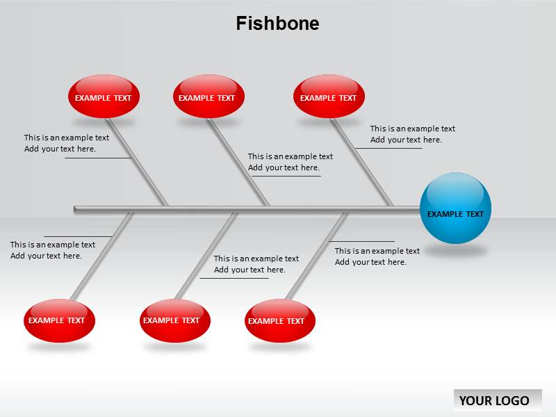 ... PowerPoint: Fishbone Chart PPT Templates : Fishbone Charts u0026 Diagrams