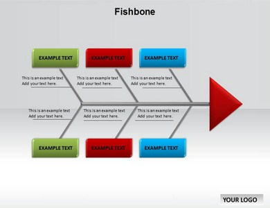 Fishbone Chart Powerpoint Templates