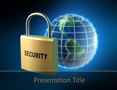 internet security powerpoint templates | internet security system, Powerpoint templates