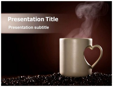 Coffee and Love Powerpoint Templates