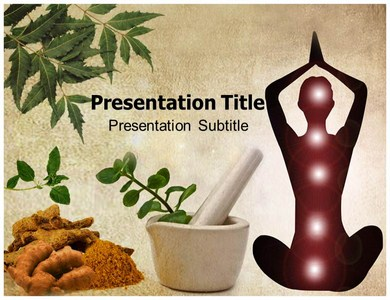 Ayurveda Templates For Powerpoint