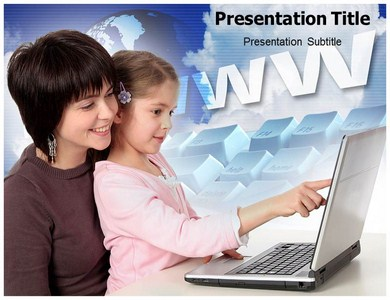 Internet Age Powerpoint Templates