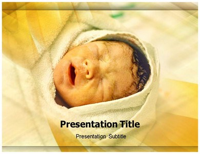 Baby Born Powerpoint Templates