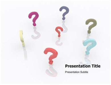 powerpoint questions and answers template - quiz questions powerpoint template powerpoint slide on