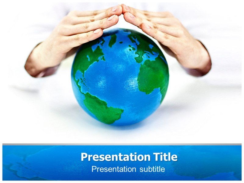 Save Earth Pptpowerpoint Template Save Earth Ppt Templates