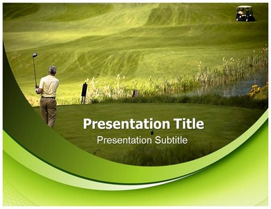 Golf Club Powerpoint Templates