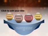 Fire Animated powerpoint theme templates