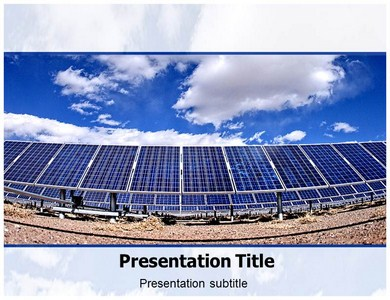 Solar Energy Powerpoint Templates
