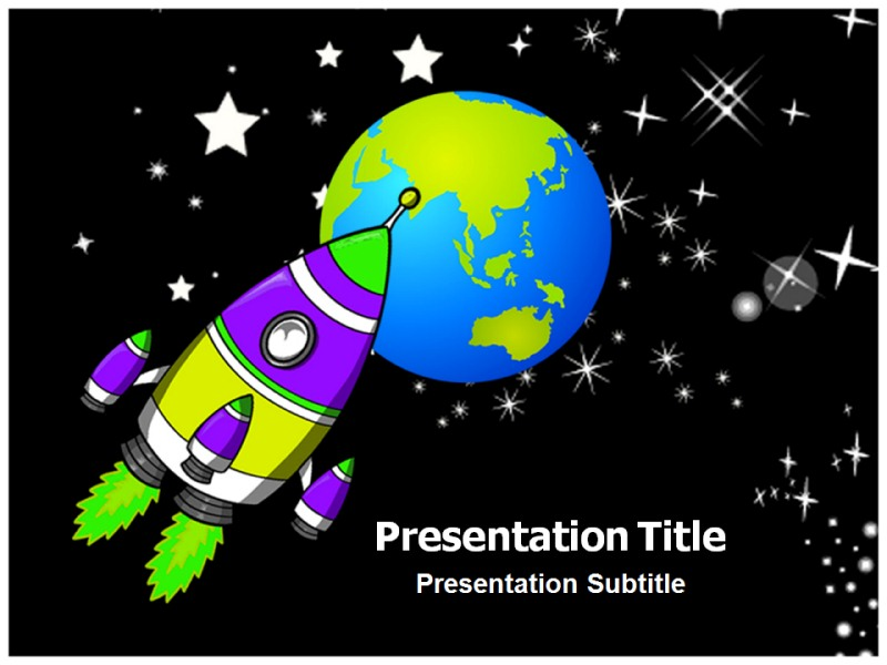Space rocket launch ppt powerpoint templates powerpoint template my toneelgroepblik Gallery