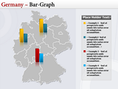 Germany Map  power Point templates