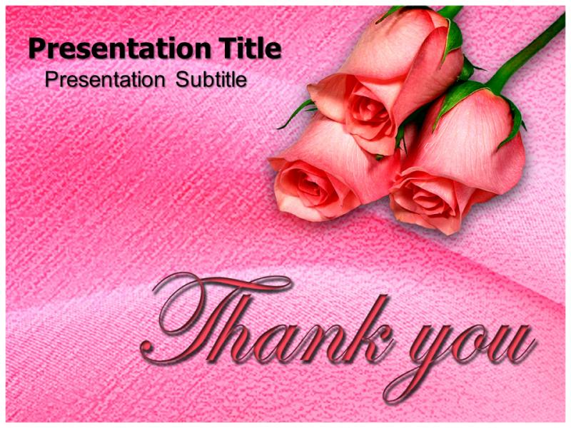 Thank You Powerpoint Templates Powerpoint Presentation On Thank